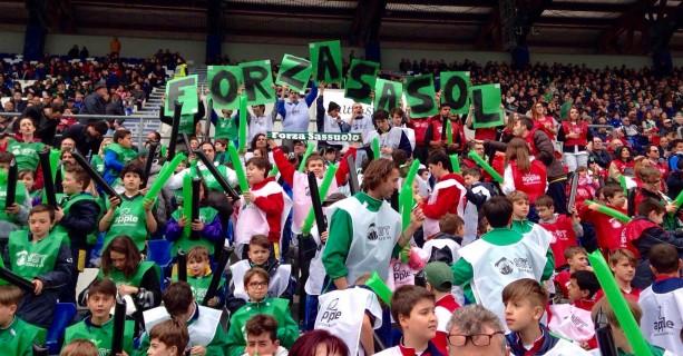 Scuola di tifo al Mapei Stadium per Sassuolo-Verona